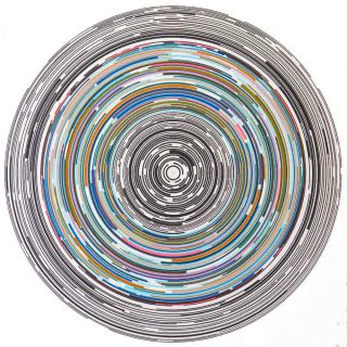 Ján Vasilko, Circle lines 2, 2018.