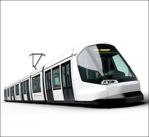 Peugeot Design Lab Alstom Transport Le Futur Tramway De